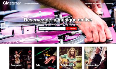 Lancement officiel de site web Gigstarter en Belgique