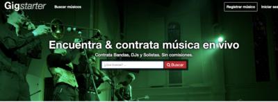 La plataforma para la contratación de música en vivo ya está activa en España