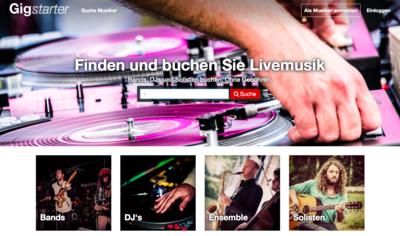 Agentur für Musiker