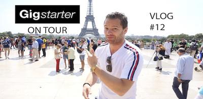 Gigstarter on Tour in Parijs