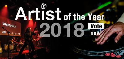 La sélection pour le tremplin Artist of the Year 2018 est sortie Belgique