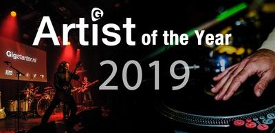 Finalisten van de Gigstarter Artist of the Year final 2019