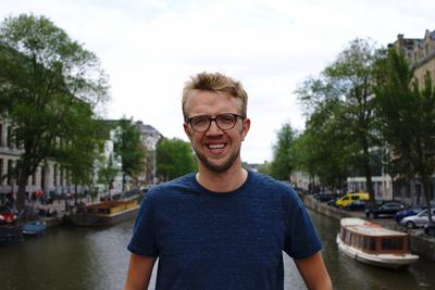 Tom van der Velpen genoot van zijn Gigstarter avontuur