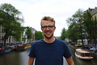 Tom van der Velpen disfrutó de su aventura en Gigstarter