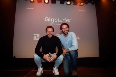A Spanish media company interviewed Erik from Gigstarter
