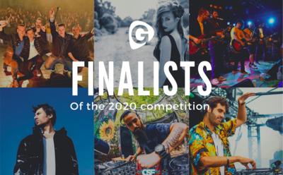 Finalisten van de Artist & DJ of the Year 2020