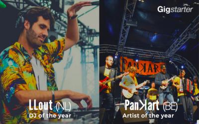 Gewinner des Gigstarter Künstler und DJ des Jahres 2020