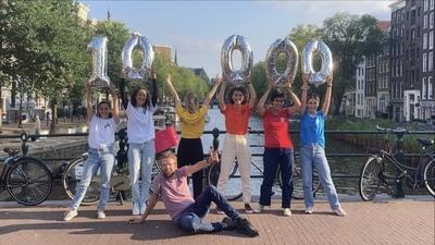 10.000 artiesten op Gigstarter!