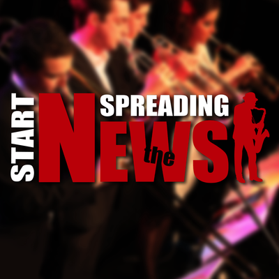 Start Spreading The News, Coverband, Funk, Swing band