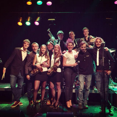 't Luchtorkest, Pop, Blues, Coverband band