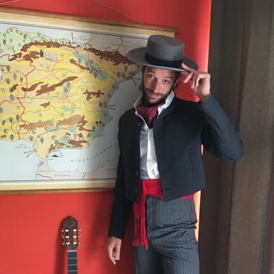 Pablo el Tonelero, Wereldmuziek, Singer-songwriter, Folk soloartist