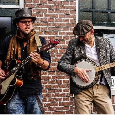 Pick'n'Shovel rootsband, Rock 'n Roll, Akoestisch, Bluegrass band