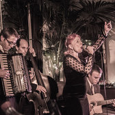 YVETTAPARIS, Where Piaf meets Django!, Tributeband, Swing, Chanson band