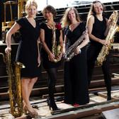 Double Espresso Saxofoonkwartet, Swing, Jazz, Akoestisch ensemble