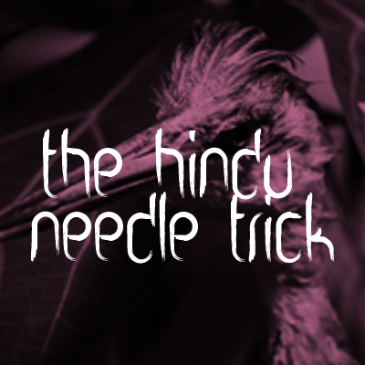 The Hindu Needle Trick, Rock, Pop, Indie Rock band