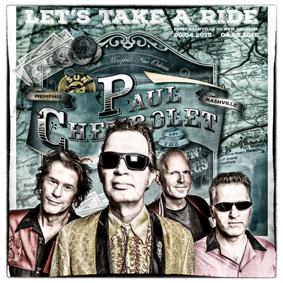 Paul Chevrolet & the Rockin Cadillacs, Rock 'n Roll, Country, Blues band