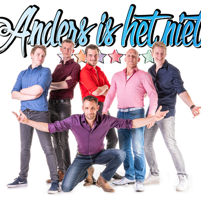 Anders is het Niet, Coverband, Allround, Rock band