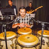 Percussionist Danny Eduard, Latin, Afro, Funk band