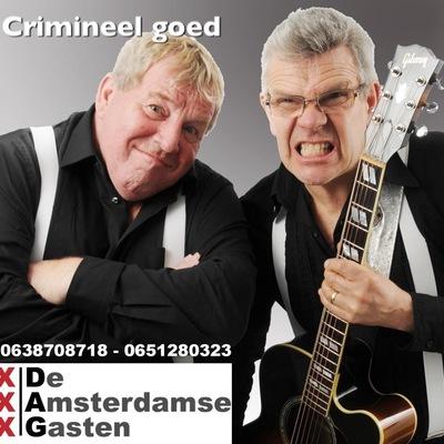 De Amsterdamse Gasten, Levenslied, Schlager, Rock 'n Roll ensemble