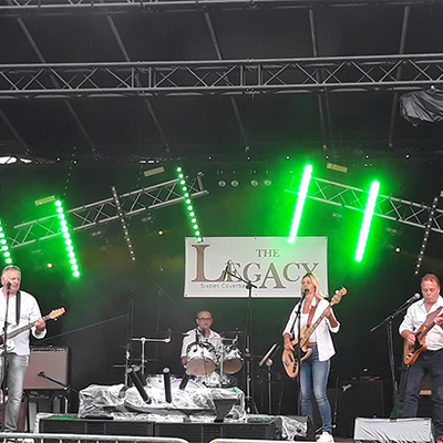 coverband The Legacy, Rock, Nederpop, Blues band