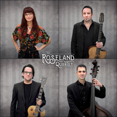 The Roseland Quartet, Jazz, Gipsy, Swing ensemble