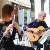 Fluit-gitaar duo Vou Vivendo, Akoestisch, Latin, Wereldmuziek ensemble