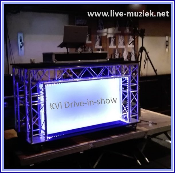 Drive in show kvl truss