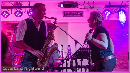 Bruiloftband band bruiloft saxofoon