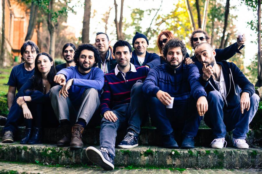 Foto de equipo proyecto roma '15