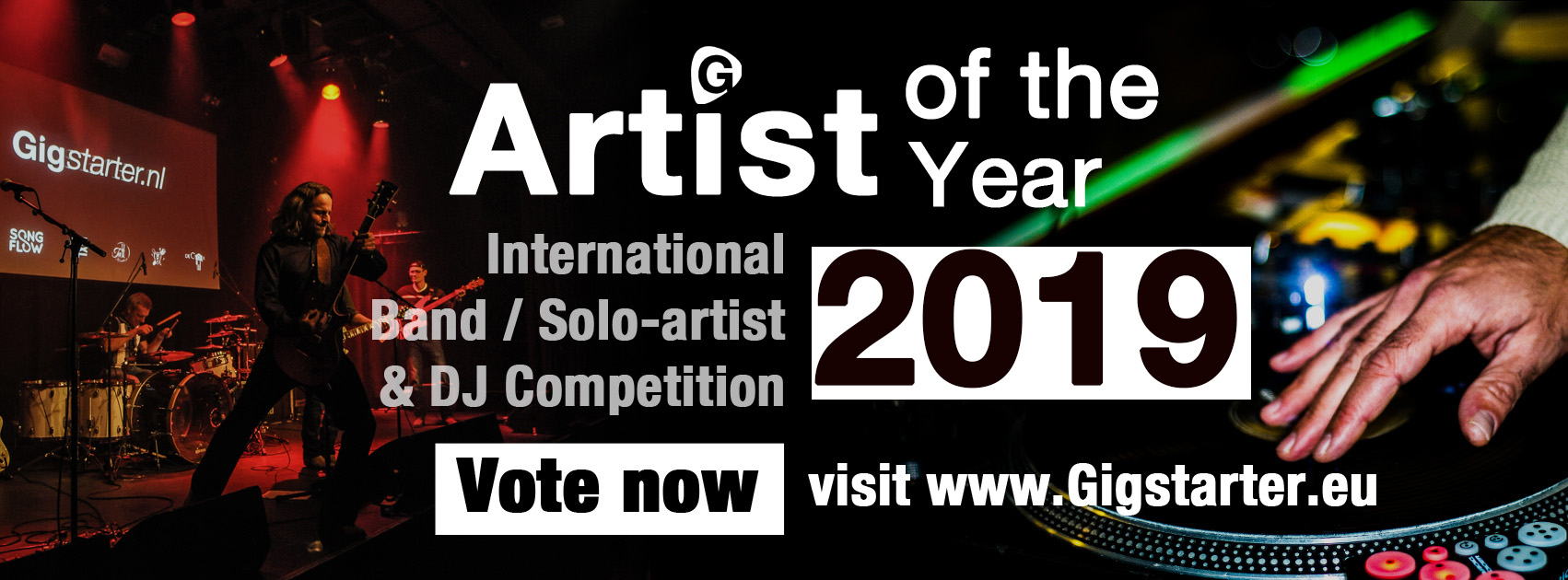 Gigstarter Artist of the Year 2019 competition