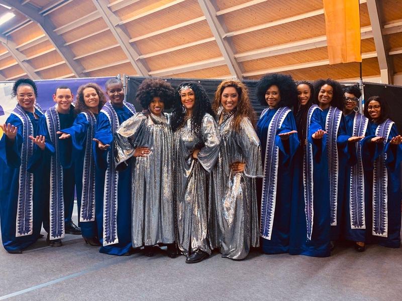 Gospel queens and friends