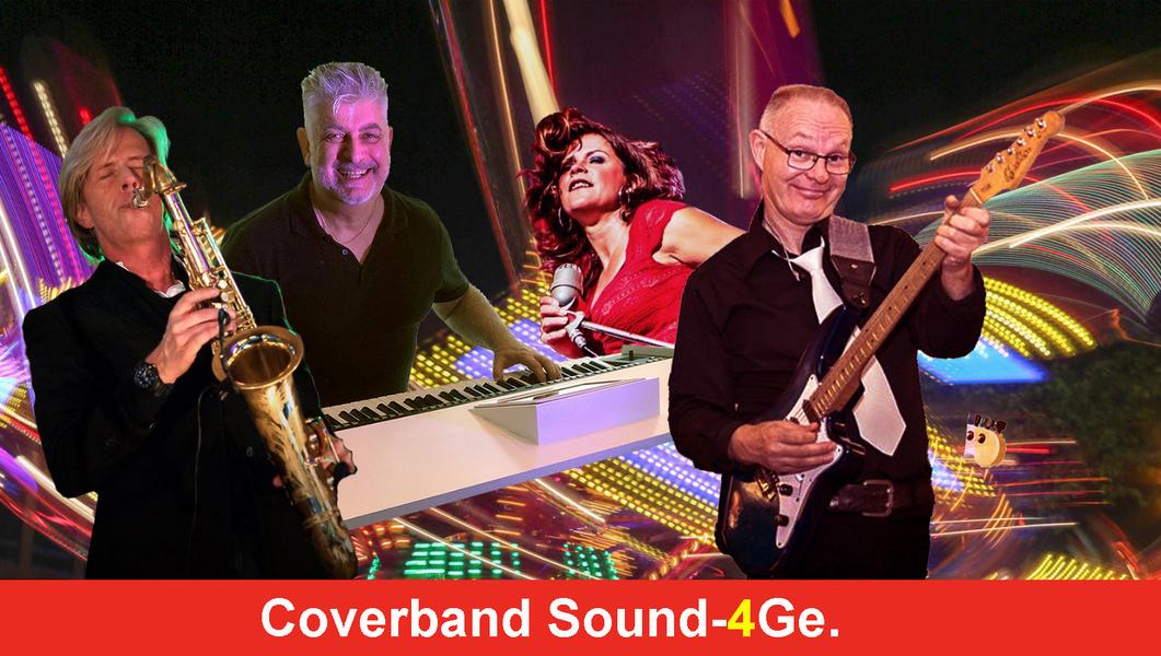 Bruiloftband coverband feestband sound 4ge