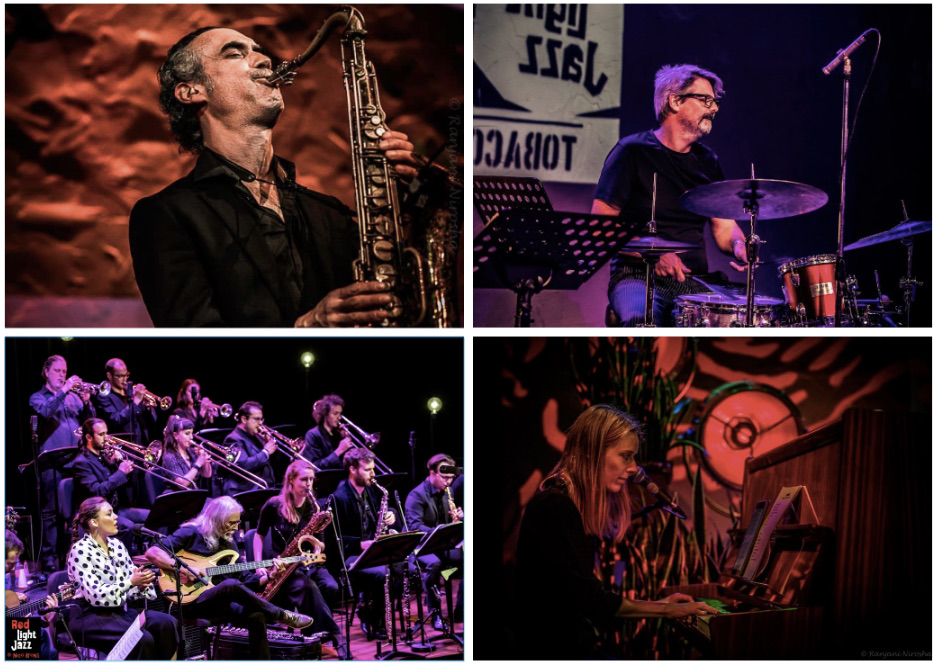 Red Light Jazz Festival collage